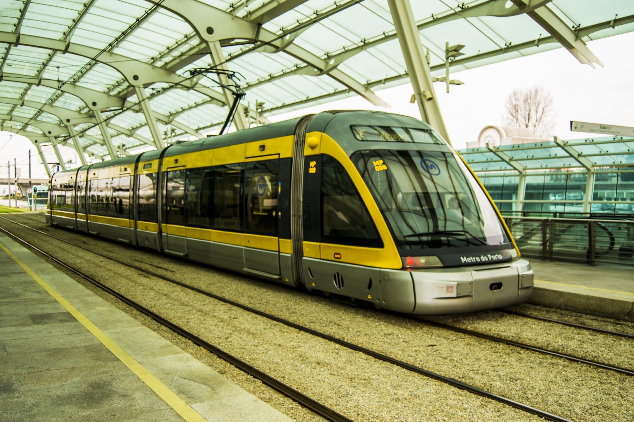 Station de Metro - Aeroport de Porto - Portugal
