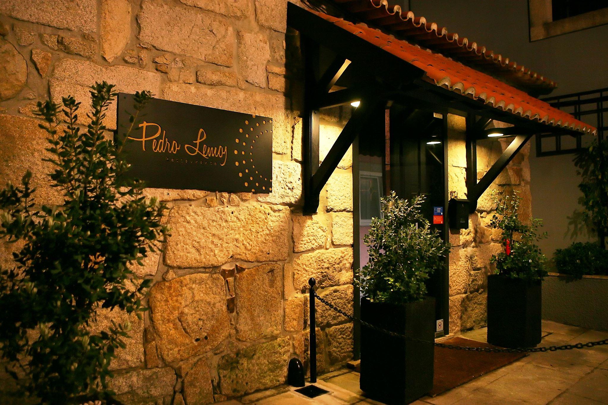 Entree Restaurant Pedro Lemos - 1 etoile Guide Michelin - Porto