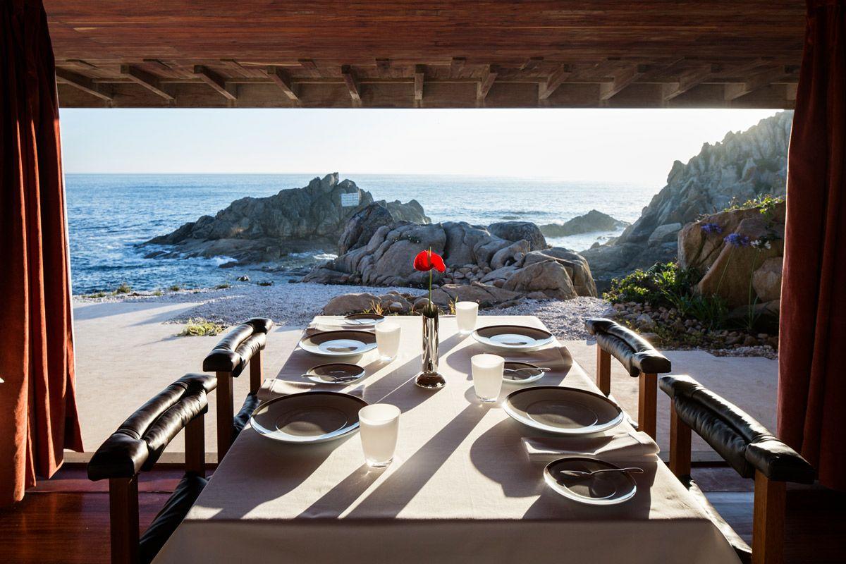 Restaurant Casa de Cha da Boa Nova - Vue sur la mer - 1 etoile Guide Michelin - Leca da Palmeira - Porto