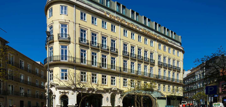 Batiment du Pestana Porto A Brasileira - Hotel 5 etoiles - Porto