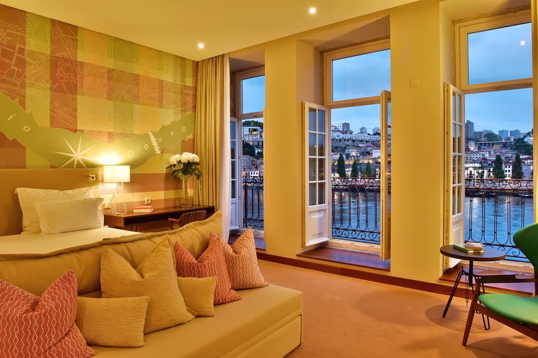 Chambre Avec Vue Sur Le Douro Pestana Vintage Hotel 5 Etoiles