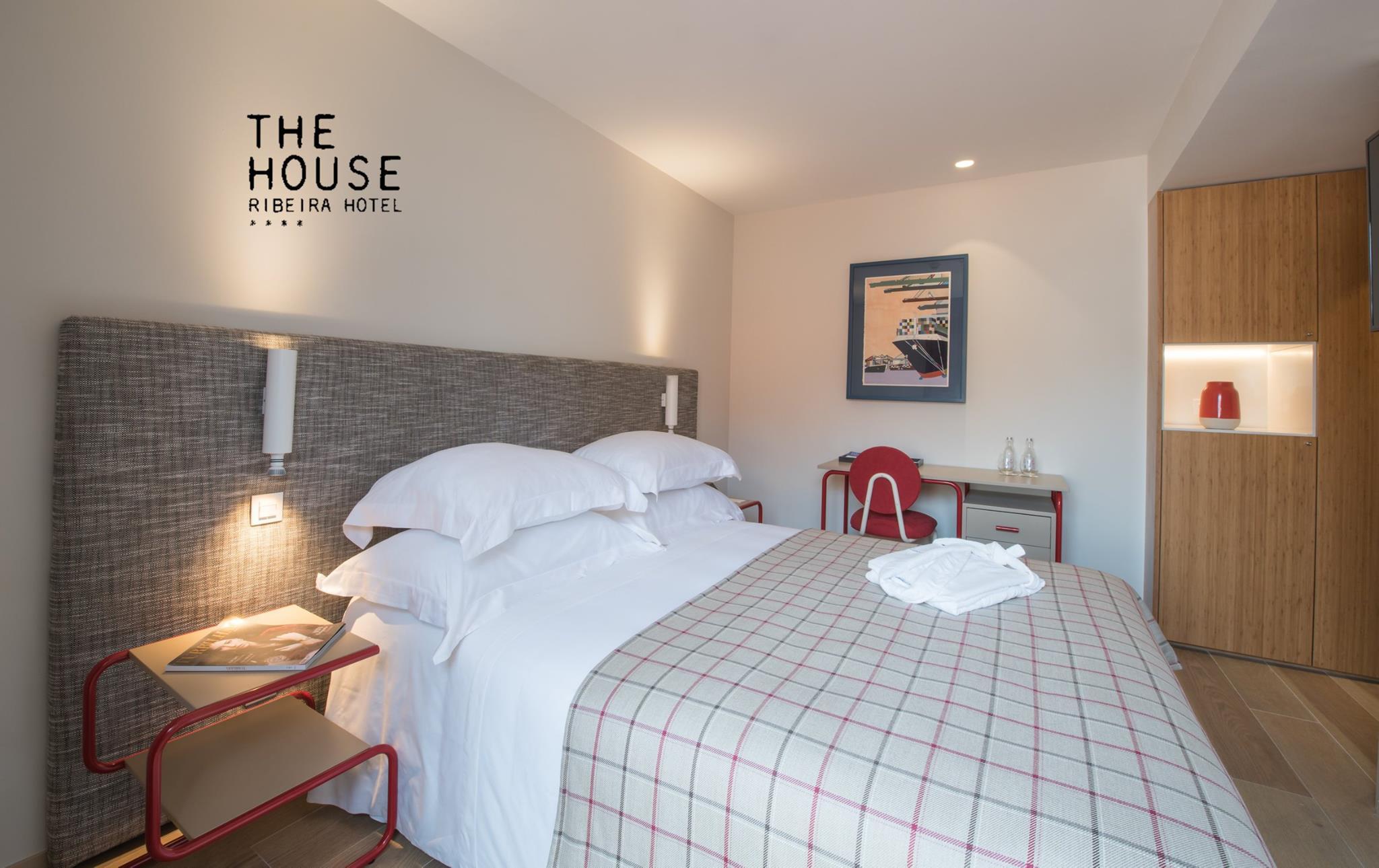Chambre double - The House Ribeira Hotel - 4 etoiles - Porto