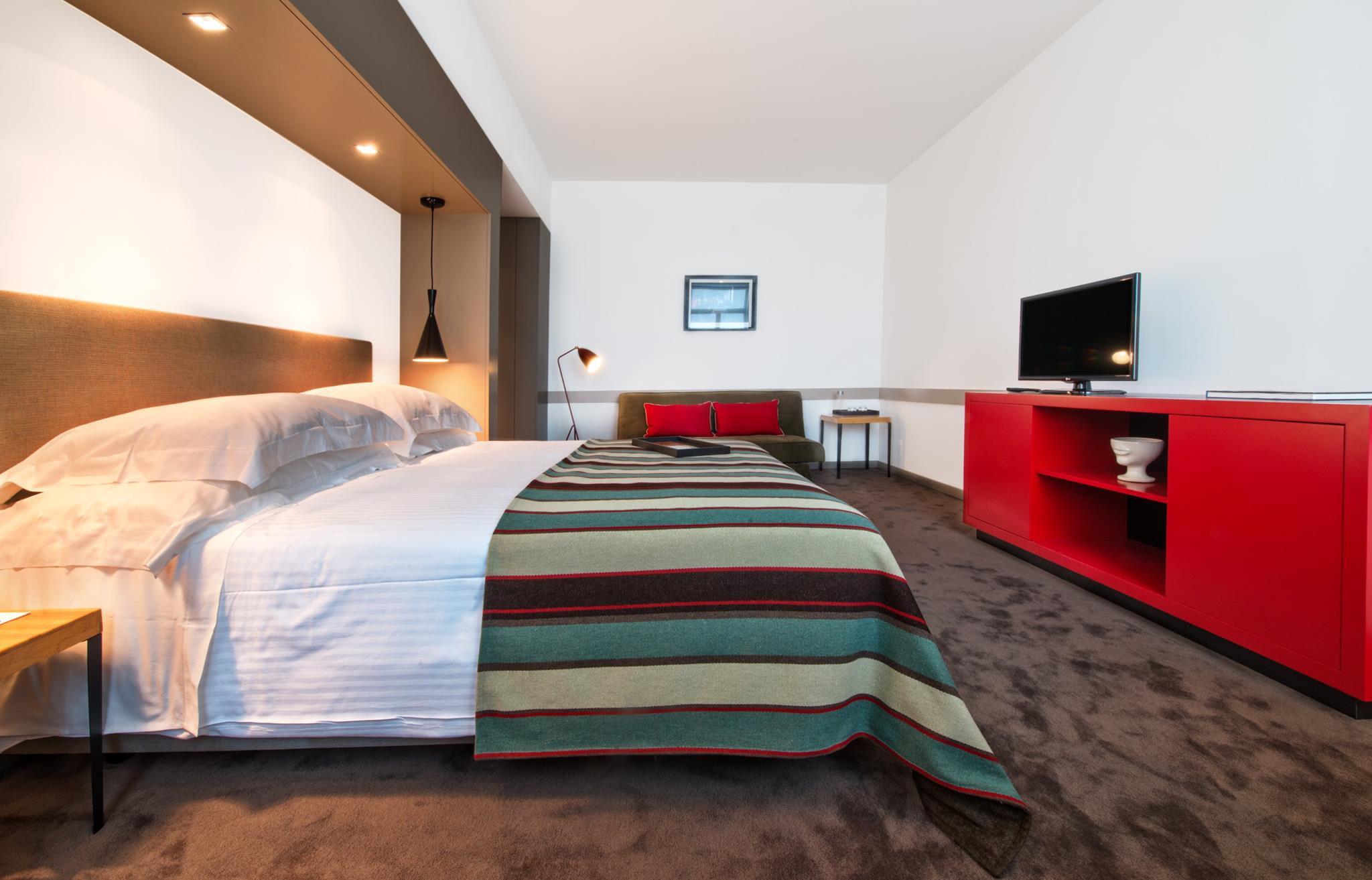 Chambre du The Artist Porto Hotel Bistro - Hotel ecole 4 etoiles - Porto