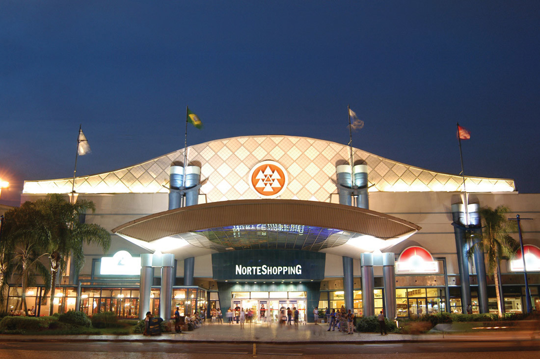 Entree centre commercial Norte Shopping - Matosinhos - Porto
