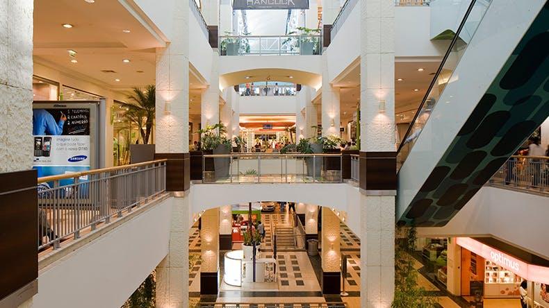 Galerie marchande du Arrabida Shopping - Centre commercial Vila Nova de Gaia - Porto