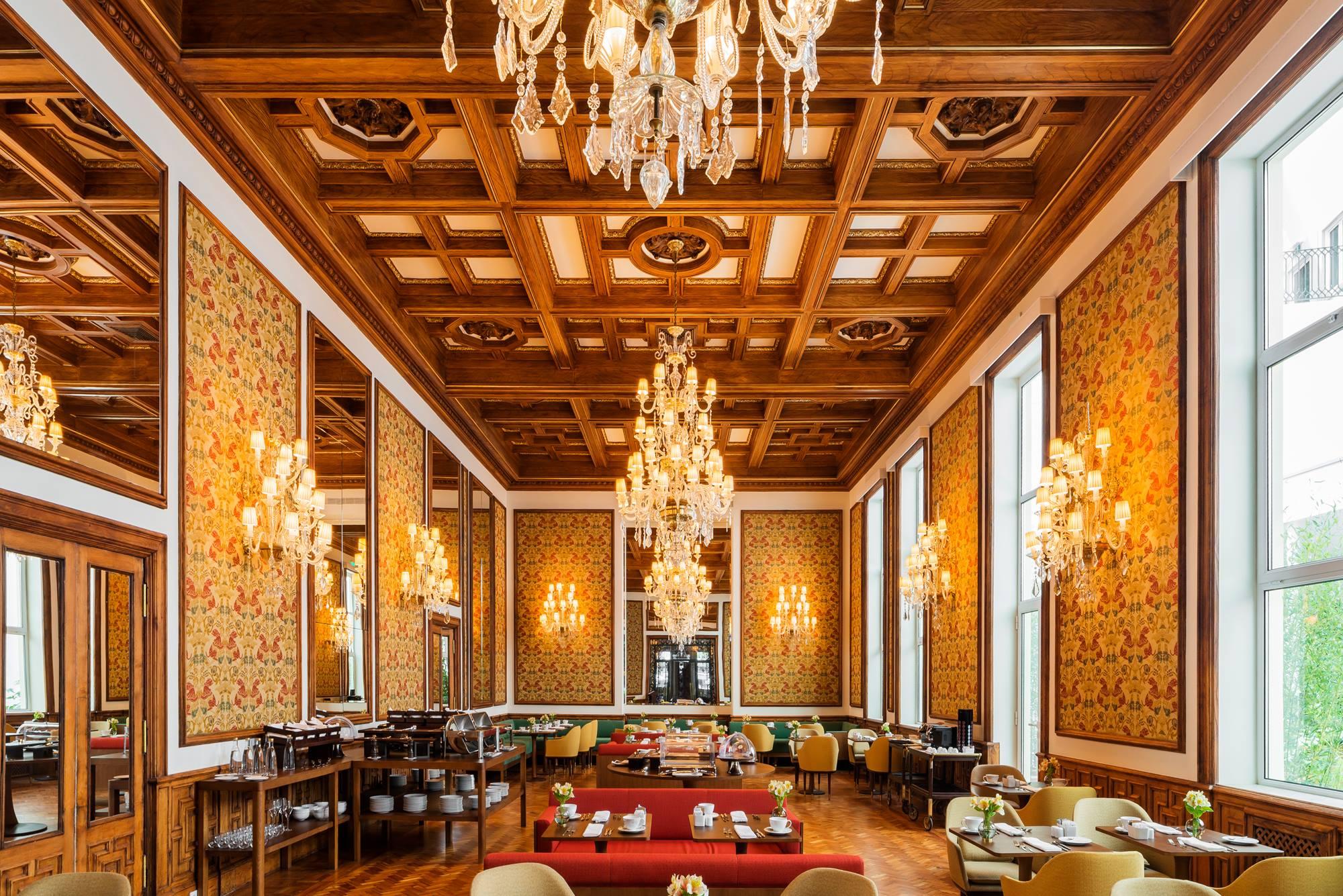 Grand Salon du Infante Sagres - Hotel 5 etoiles - Porto