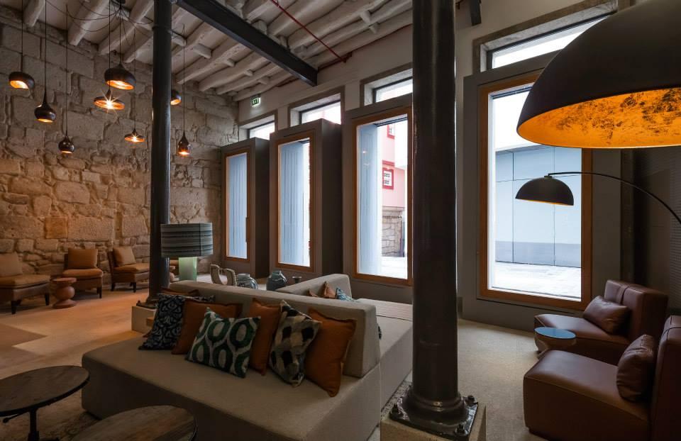 Reception - Descobertas Boutique Hotel - 4 etoiles - Porto