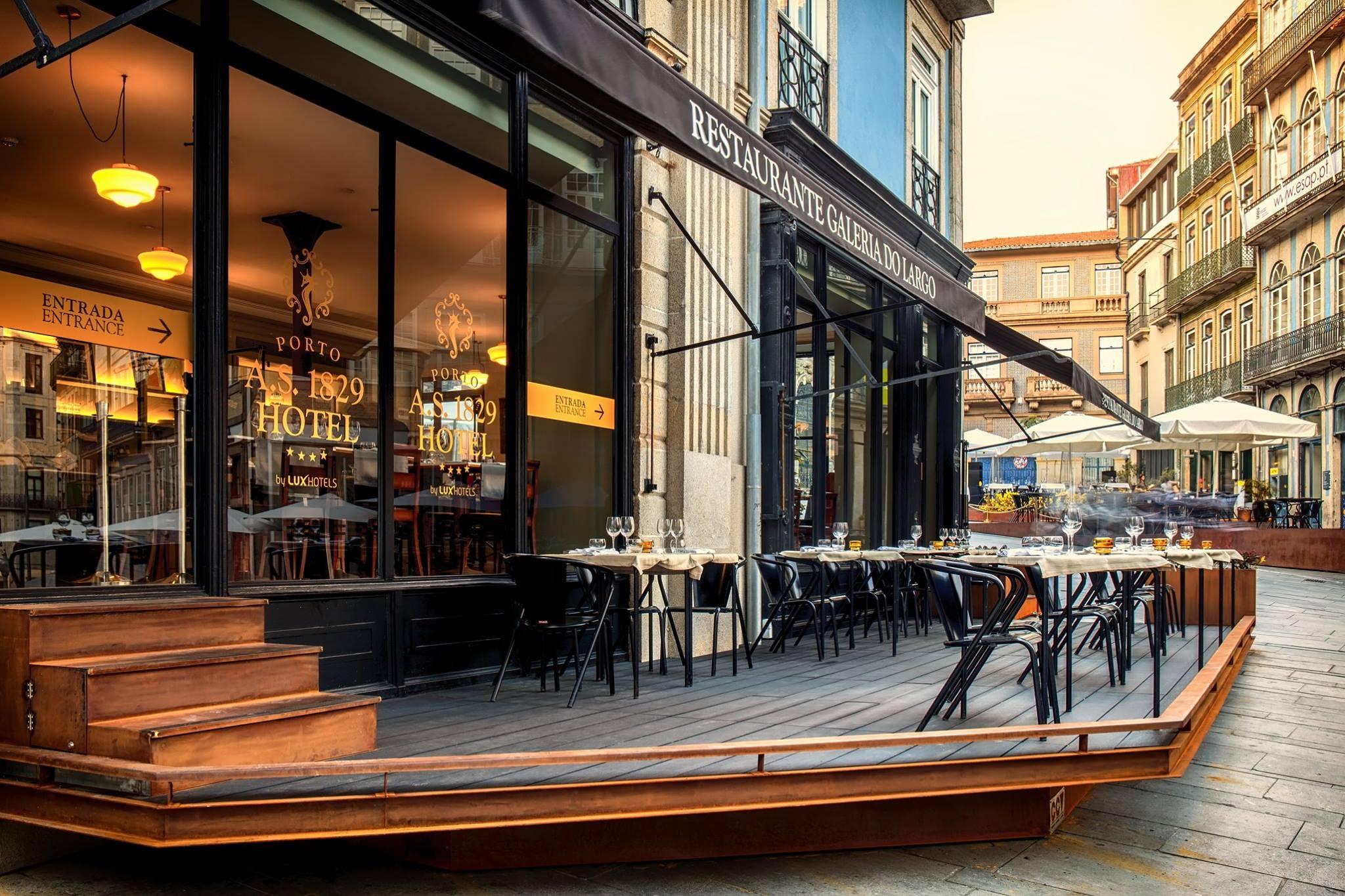 Restaurant Galeria do Largo - Porto A.S 1829 Hotel - Porto