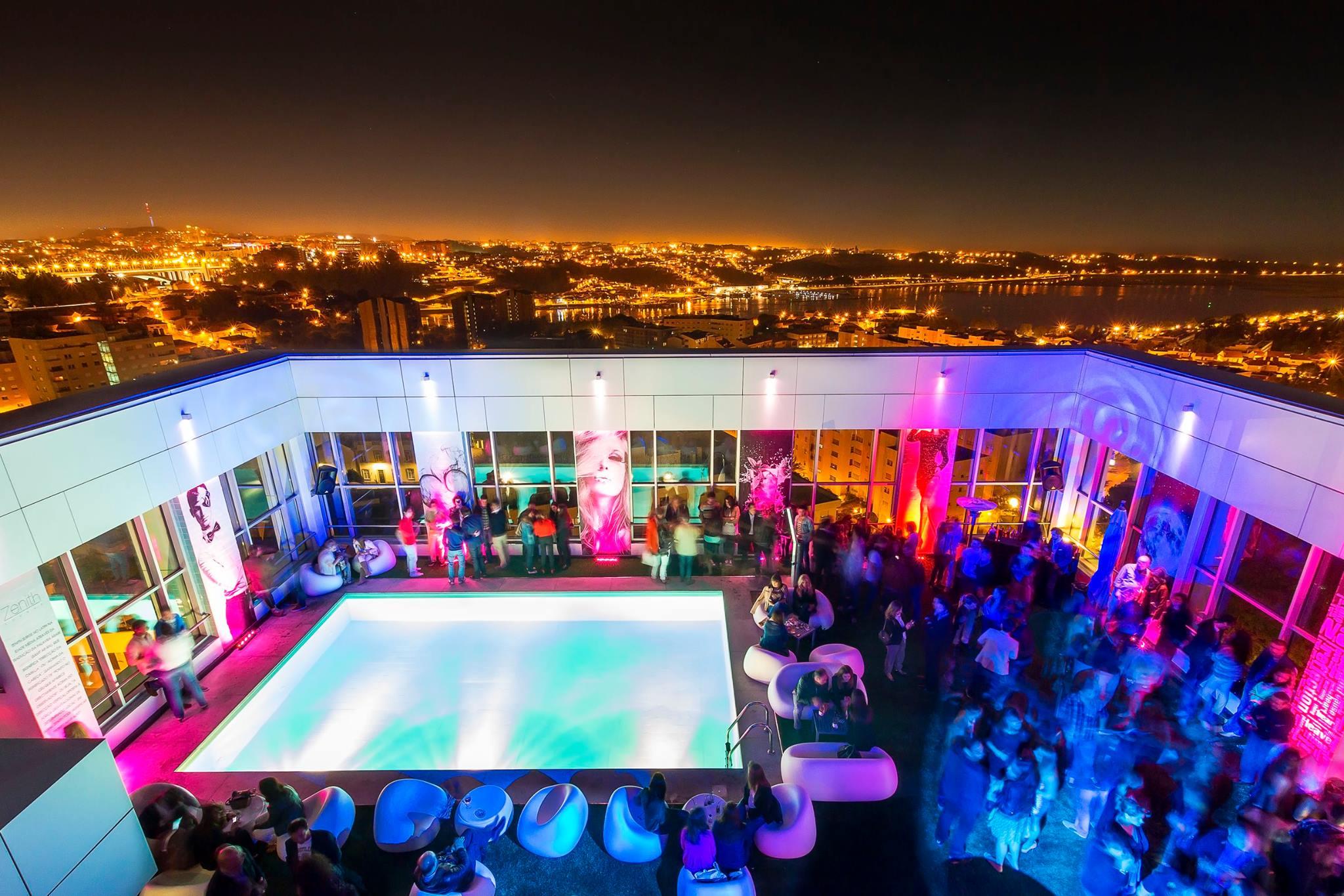 Rooftop - Terrasse - OnTop Bar - Hotel HF Ipanema Park- Porto