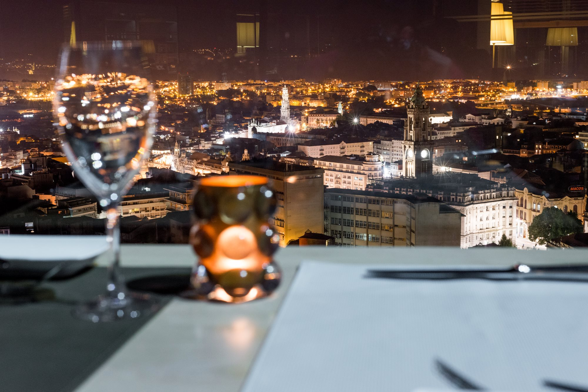 Terrasse - Rooftop - 17 Restaurante Bar - Hotel Dom Henrique Downtown - Porto
