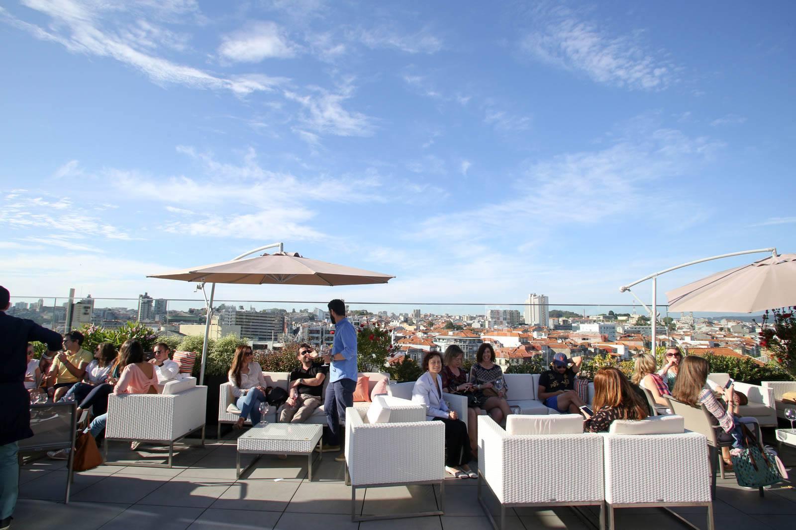 Terrasse du Portobello Rooftop Restaurant Bar - Porto