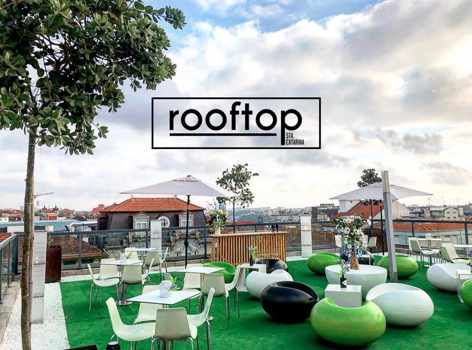 Terrasse du rooftop Santa Catarina - Centre Commercial La Vie Porto Baixa - Porto