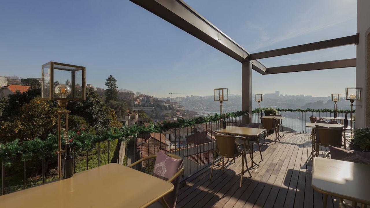 Terrasse restaurant Digby - Hotel Torel Avantgarde - 5 etoiles - Porto