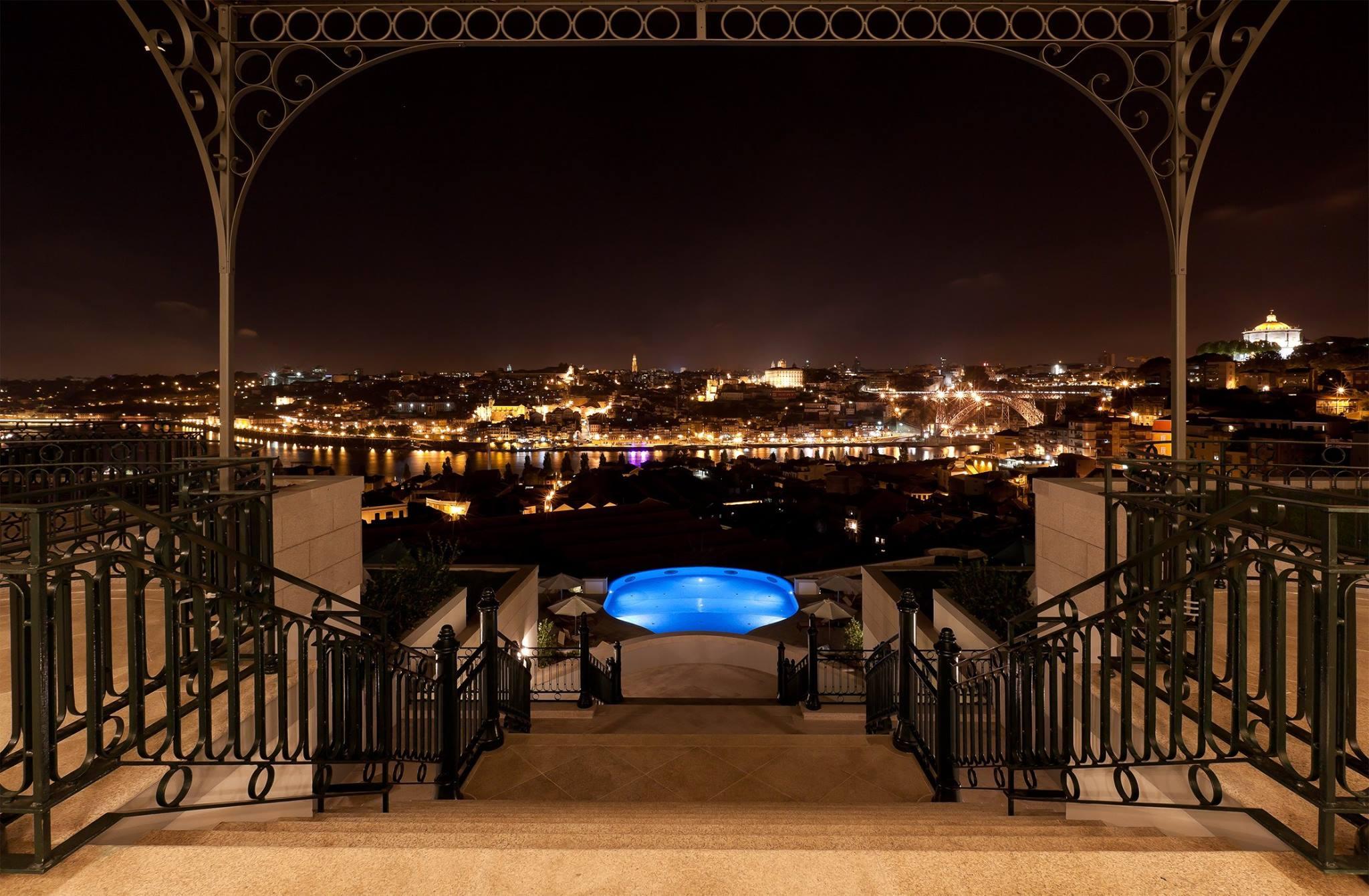 Vue sur Porto depuis hotel 5 etoiles Yeatman - Vila Nova de Gaia