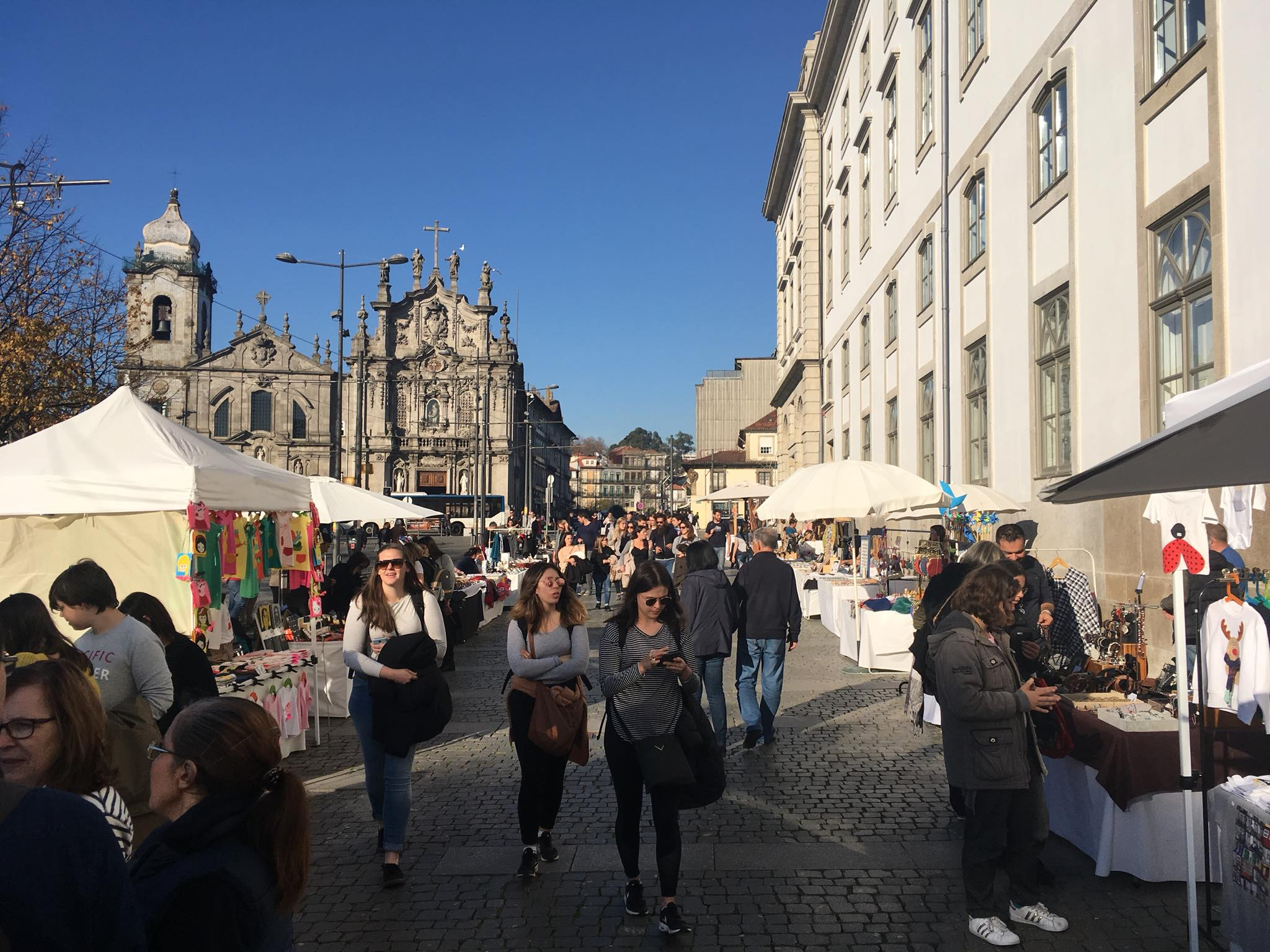 Marche artisanat - Mercado artesanato - Porto