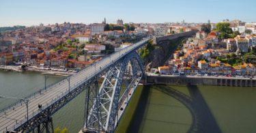 Pont Dom Luis I le jour - Ponte de Dom Luis I de dia - Porto