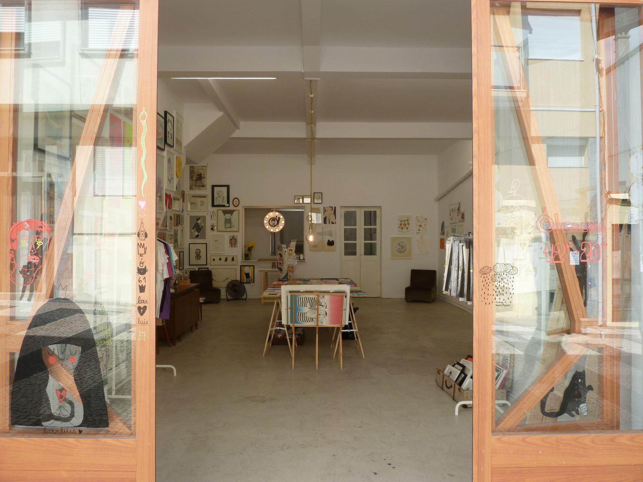 Boutique et galerie art - O Galeria - rue Miguel Bombarda - Porto