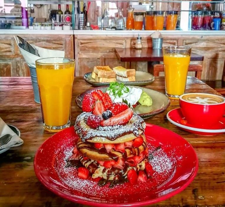 Brunch avec pancakes - Cafe Progresso - Porto