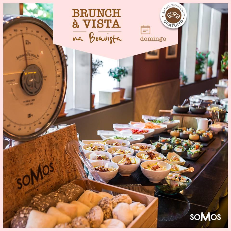 Brunch du Somos Restaurant - Hotel Crowne Plaza - Porto