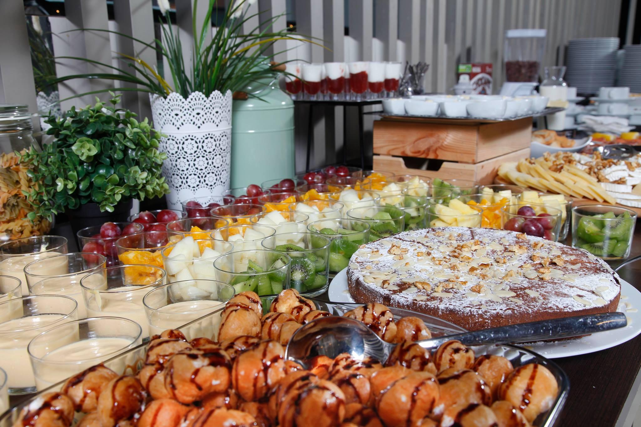 Buffet du brunch au restaurant Terrella - Porto