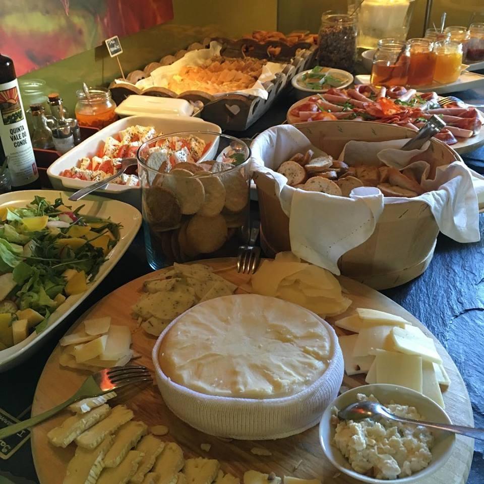 Buffet du brunch du Soundwich - Porto