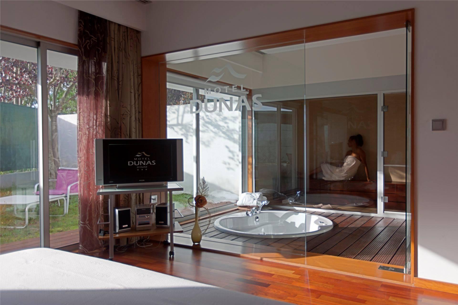 Suite de luxe avec jacuzzi - Motel Dunas - Ovar
