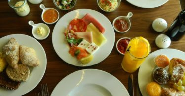 Table de brunch au Digby - Hotel Torel Avantgarde - Porto