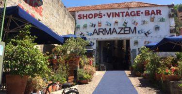 Entree du concept store Armazem Porto