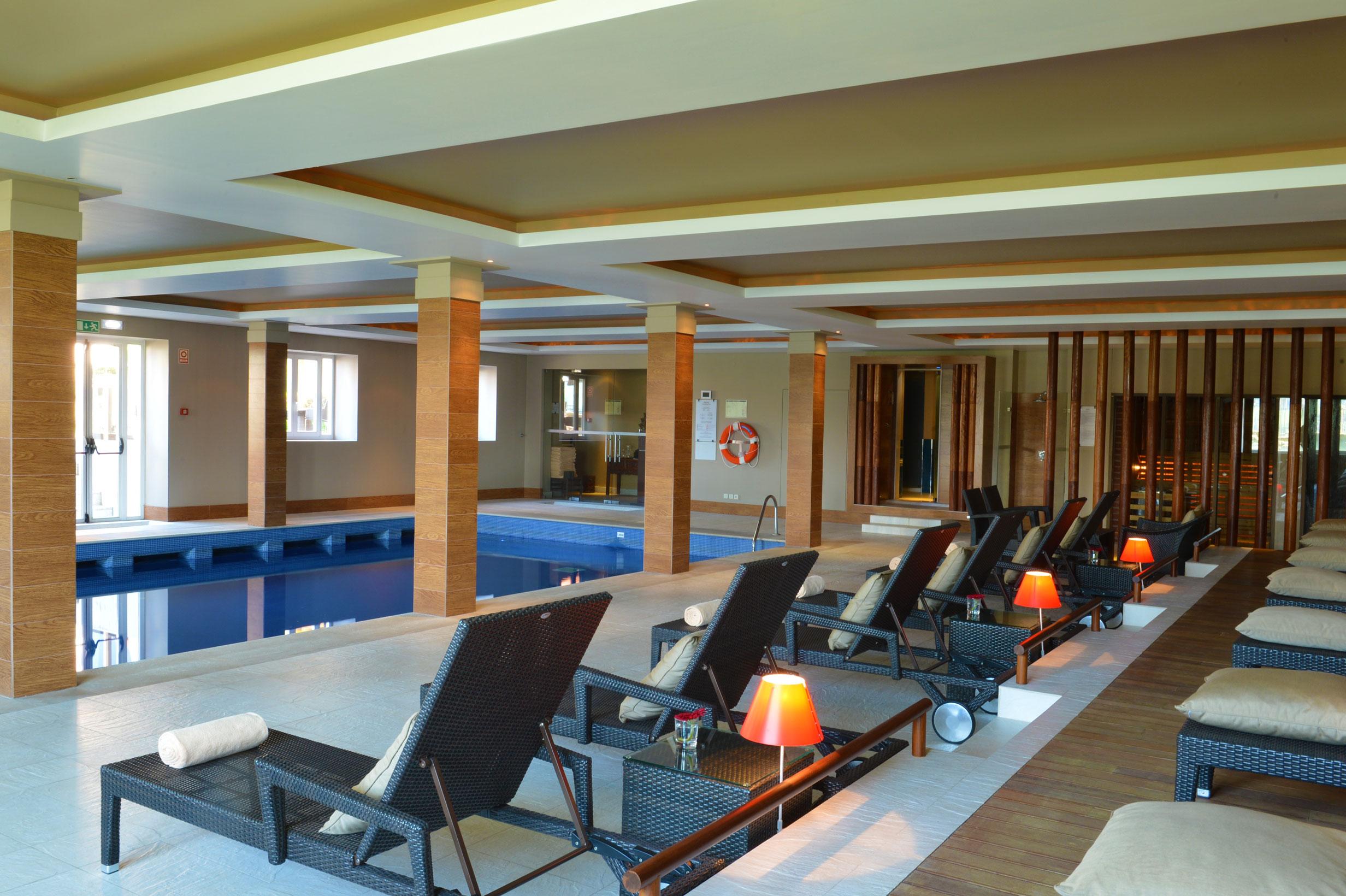Piscine interieure du Magic Spa Pestana - Hotel Palacio do Freixo - Porto