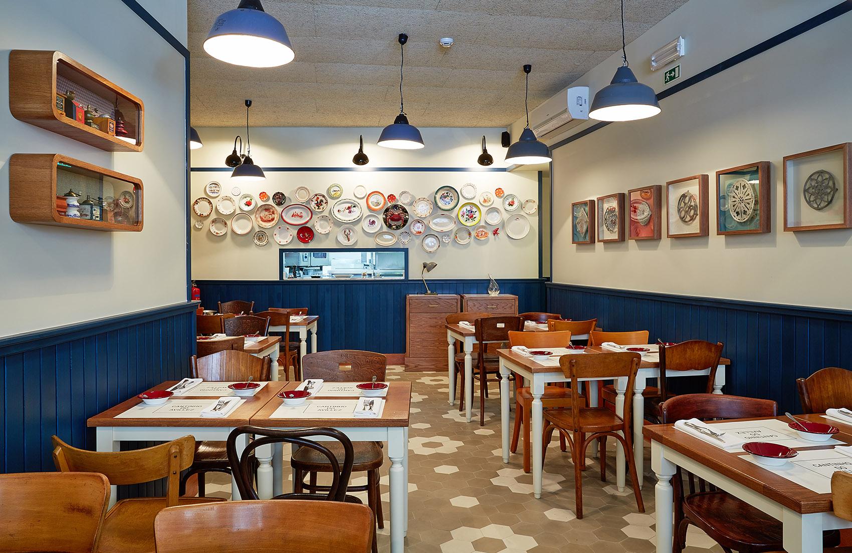 Salle du restaurant Cantinho do Avillez - Porto