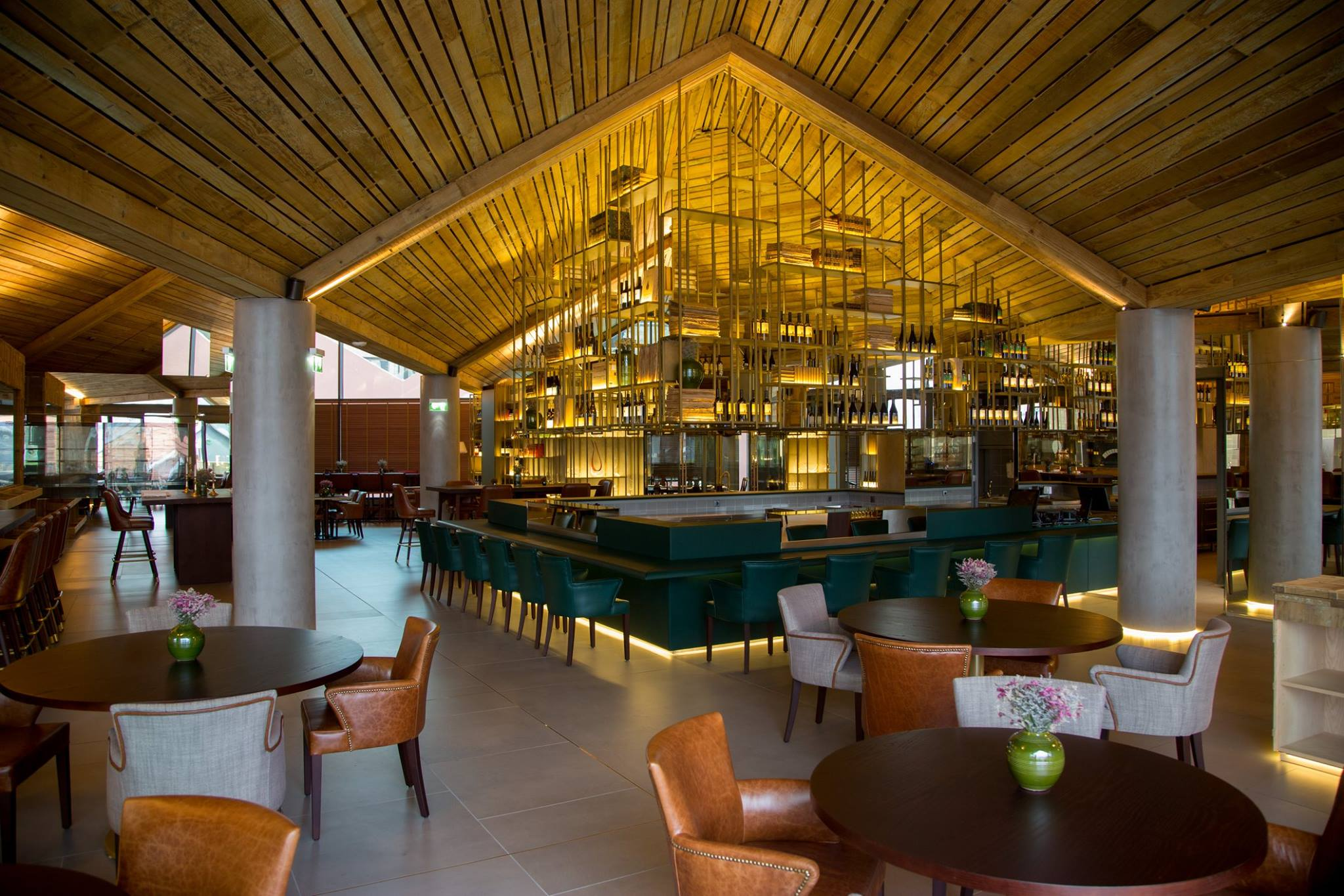 Salle du restaurant Enoteca 17.56 - Musee Real Companhia Veha - Vila Nova de Gaia - Porto