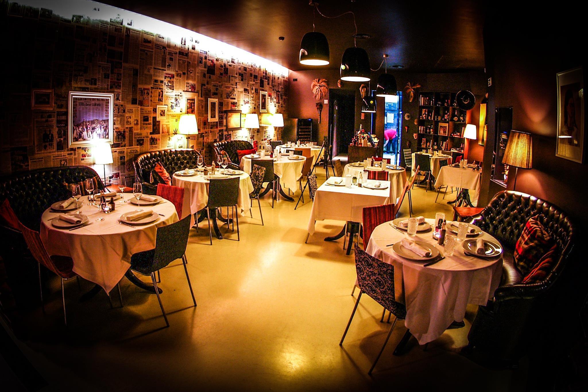 Salle du restaurant mexicain Frida - Porto