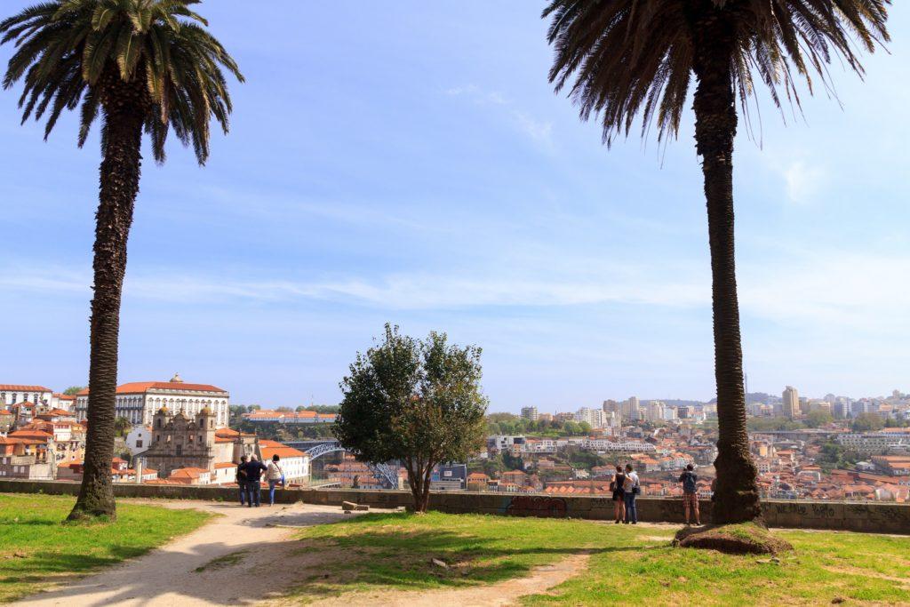 Miradouro da Vitoria - Belvedere de Porto - Vue sur Porto et Vila Nova de Gaia