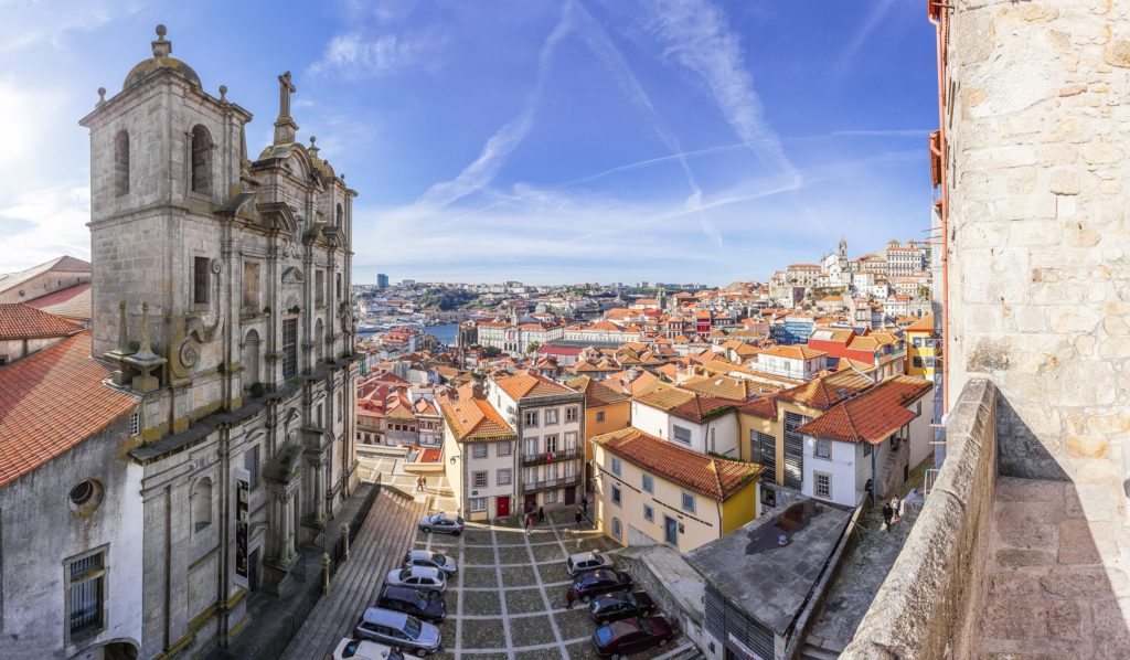 Vue sur Porto depuis eglise Sao Lourenco